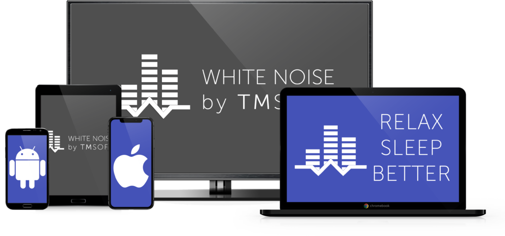 White Noise is available on iOS, Android, Desktop, and Televisions