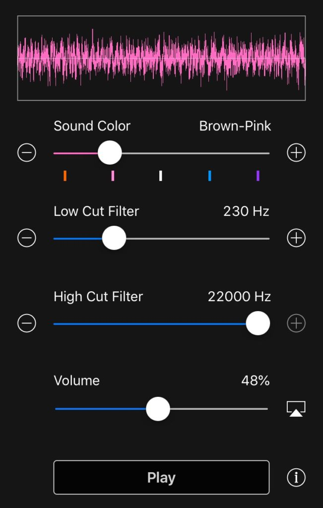 Noise Generator Brown Pink by TMSOFT
