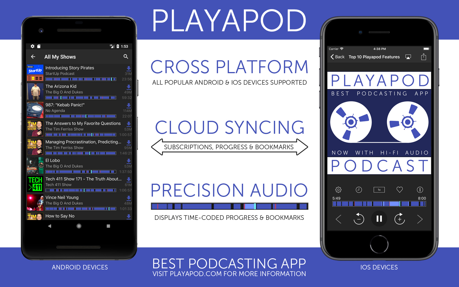Playapod: Cross-Platform Podcasting App