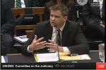 Todd Moore testifying before Congress
