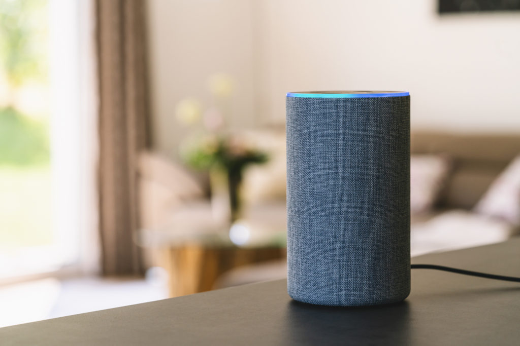 Listen to Sleep Sounds Podcast with the Amazon Echo Alexa Smart Speaker for Home