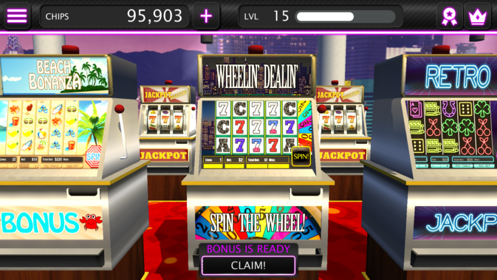 Video Slot Machine Slots Champion Game