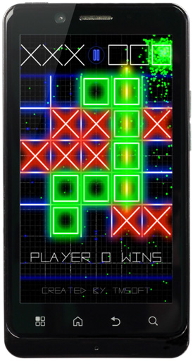 Tic Tac Toe Glow on Android