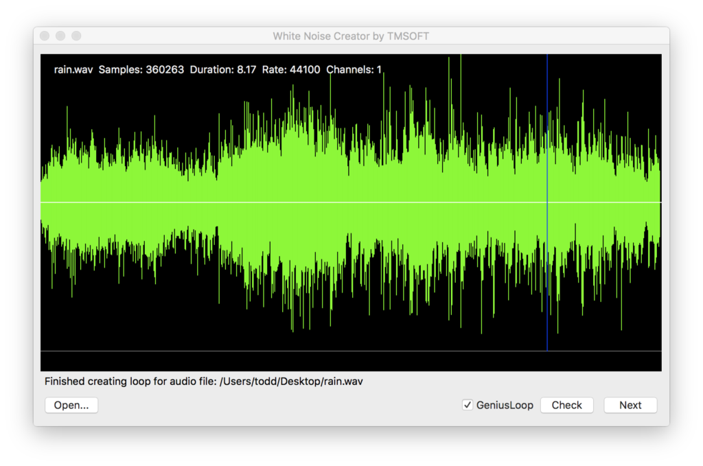 White Noise Creator App